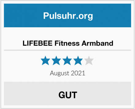 LIFEBEE Fitness Armband Test