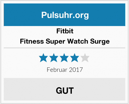 Fitbit Fitness Super Watch Surge Test