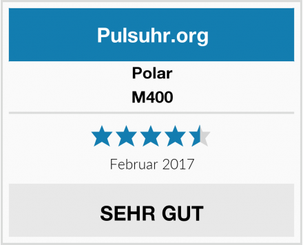 Polar M400 Test