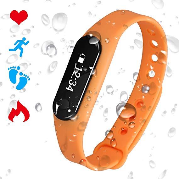 Padgene Smartwatch Fitnessarmband C6